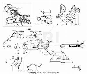 Poulan 400ex Poulan Pro Electric Saw  Pp400ex Parts