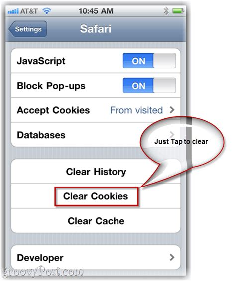 how to clear browser history on iphone how to clear your iphone or safari browser cache
