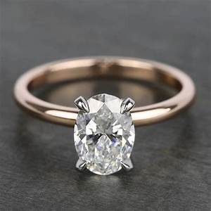1 40 Carat Oval Diamond Solitaire Ring With Claw Prongs