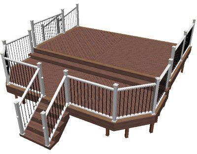 fiberon composite decking  images deck design