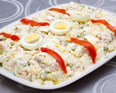 oeuf cuisine recette ensaladilla salade de pommes de terre à l 39 espagnole