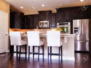 kitchen modern white kitchens with dark wood floors deck