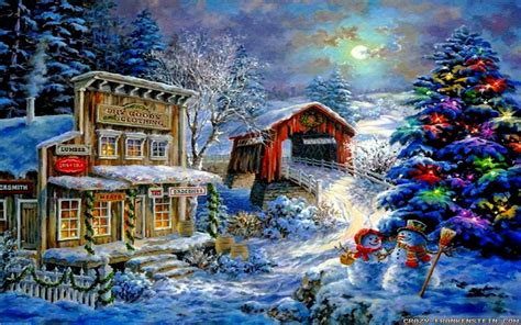 Winter Christmas Wallpapers 2