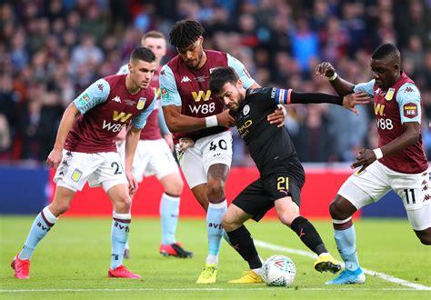 Aston Villa 1-2 Manchester City Statistik Menarik Laga ...