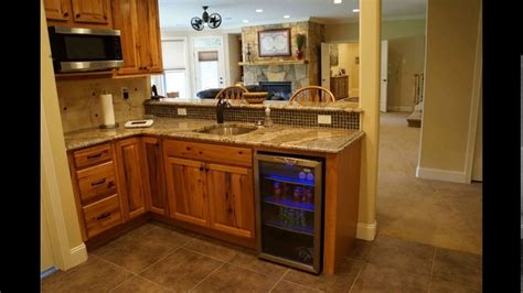 Small basement kitchen design YouTube