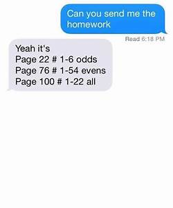 Homework, for you - adequate man