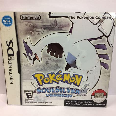 Pokemon Soul Silver Pokewalker Ds 3ds Impecvel