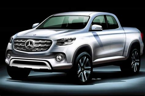 mercedes pickup mercedes benz pickup truck will be named the glt
