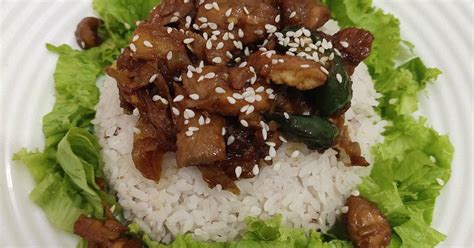 Anda bisa mencoba membuat dengan melihat resep ayam teriyaki spesial. 4.762 resep ayam teriyaki enak dan sederhana ala rumahan - Cookpad