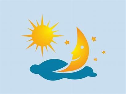 Moon Sun Stars Clipart Vector Graphics Clip