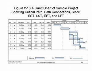 203wbs Network Gantt Chart