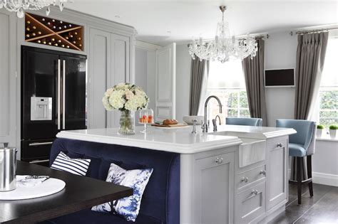 Island Banquette Ideas   Contemporary   Kitchen   Zoffany
