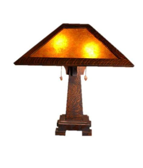 Mission Craftsman Art and Crafts Table Lamps