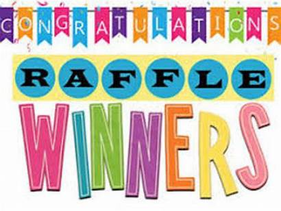 Raffle Winners Draw Ticket Clip Announced Support