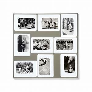 Pele Mele Photo : pele mele magnetique m9 gris presse citron ~ Nature-et-papiers.com Idées de Décoration