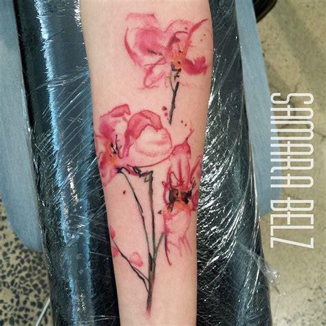 idees tatouage orchidee le desir  fleur de peau