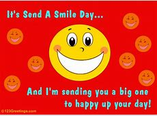 Happy Up Your Day Free Send a Smile Day eCards
