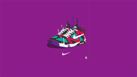 hd wallpaper nike logo snickers