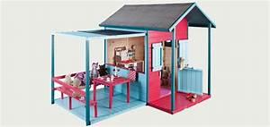 Cabane Enfant Tissu : cabanes en bois pour enfants mamaisonmonjardin com ~ Teatrodelosmanantiales.com Idées de Décoration