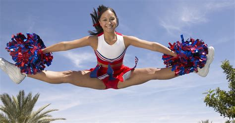 cheerleader stretches exercises livestrongcom