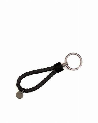 Ring Key Bottega Braided Loop Veneta Sold