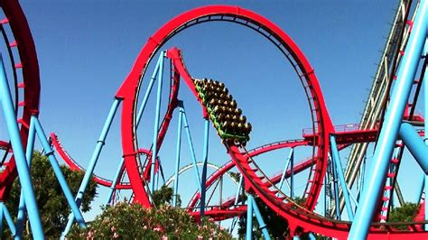 Dragon Khan off-ride HD PortAventura Park - YouTube