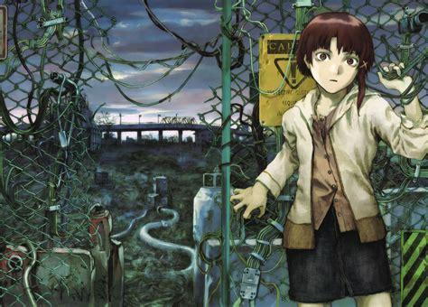 wallpaper anime girls serial experiments lain lain