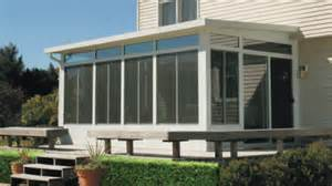 glass enclosed rooms porch and patio