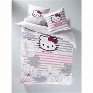 housse de couette hello kitty 140 x 200 200 x 200 220 x With déco chambre bébé pas cher avec housse de couette petites fleurs roses