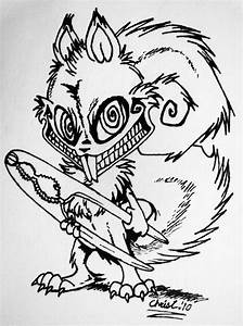 Psychotic Squirrel No. 2 by TickleMeHoHo on DeviantArt
