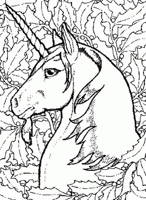 coloriage tete licorne silhouette dessin gratuit  imprimer