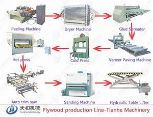 plywood production line - YouTube