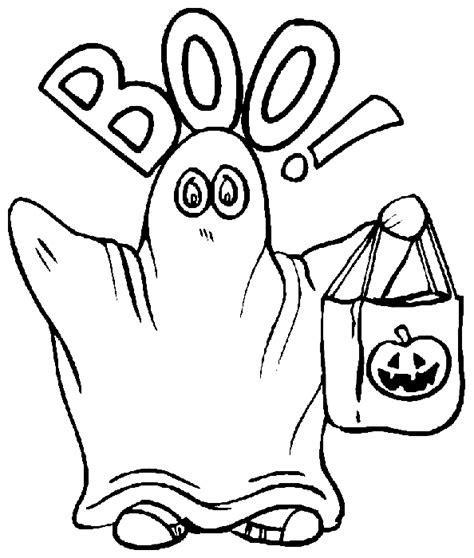 Kleurplaat Spook by Kleurplaten Spook