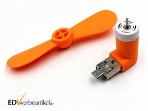 Mini Ventilator Usb : mini usb ventilator werbeartikel mit microusb adapter integriert ~ Orissabook.com Haus und Dekorationen