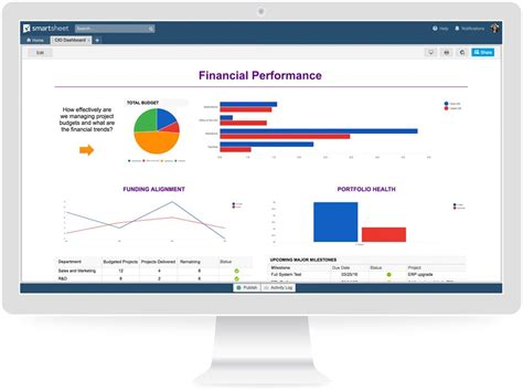 important dashboards  executive visibility