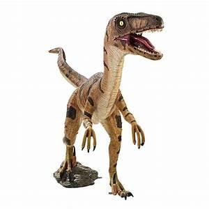 Jurassic-sized Velociraptor Yard Statue  Velociraptor