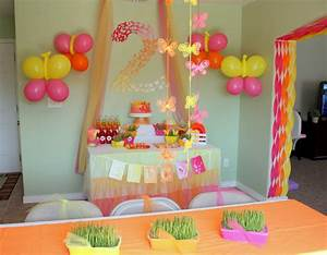 Butterfly Themed Birthday Party: Decorations - events to