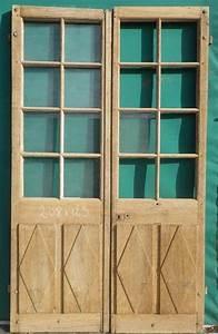 Porte Intérieur Double Vantaux : c2va10 porte d 39 interieur 2 vantaux vitree d co pinterest int rieur portes et salon vert ~ Melissatoandfro.com Idées de Décoration