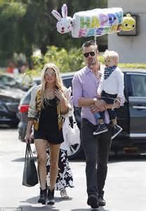 Josh Duhamel and Fergie Family