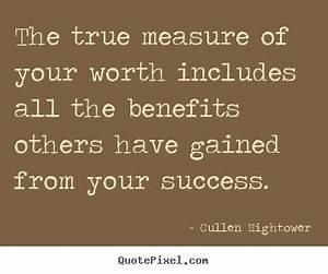 Measure Of Life Quotes. QuotesGram