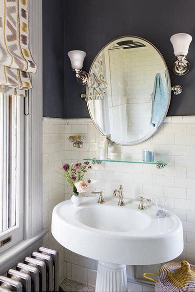 antique fluted pedestal sink   delta nickel faucet