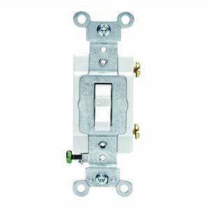 20 Amp Single Pole Light Switch