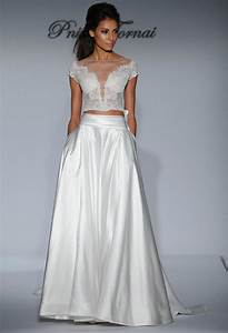 top 10 wedding dress trends for 2016 southbound bride With crop wedding dress