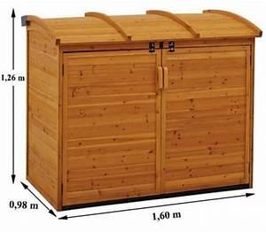 grand coffre de jardin bois trigano store With jardin autour d une piscine 16 detail produit stock