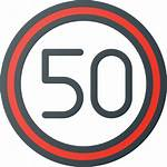 Limit Speed Icon Flaticon Signs Icons