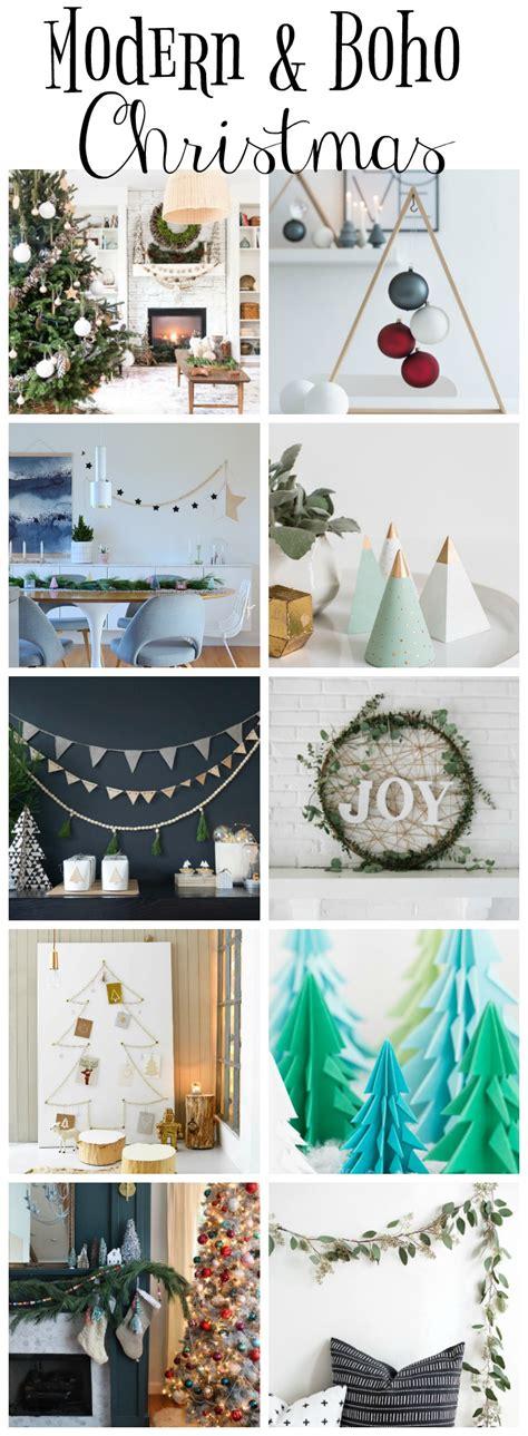 Modern & Boho Christmas Style Series - The Happy Housie