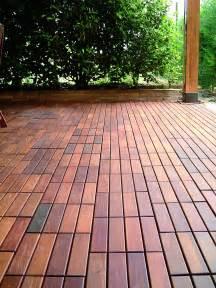 Outdoor Patio Flooring Ideas Deck