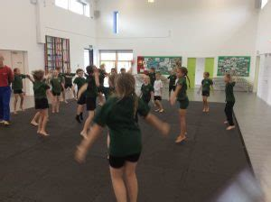 judo demonstration impalas greentrees primary school