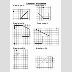 Enlargement With A Fractional Scale Factor By Rhiannonwates  Teaching Resources Tes