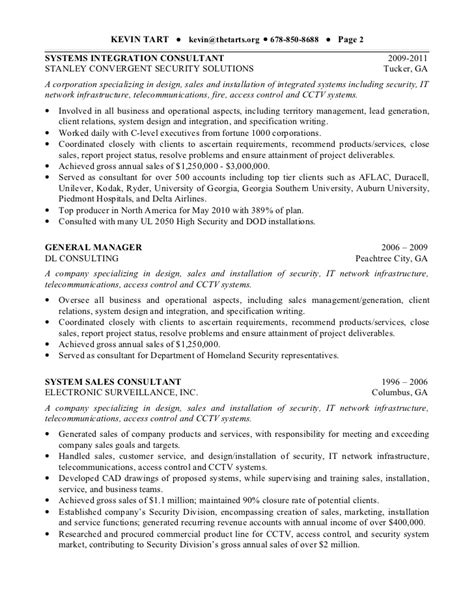 Infrastructure Security Architect Resume by Kevin Tart Resume